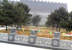 修复后的古城墙